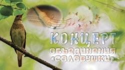 Отчетный концерт объединения «Соловушки»